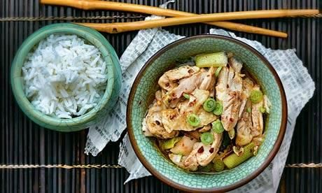 Recipes for under £5: Sichuan mouthwatering chicken