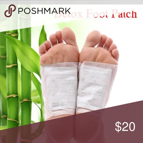 Korean foot detox patch...bundle deal 10 pairs Foot detox patch..apply at bed time and remove in the morning Other