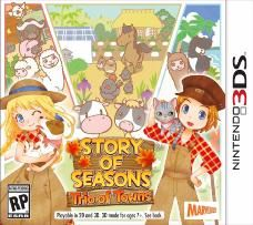 juego 3ds story of seasons: trio of towuns