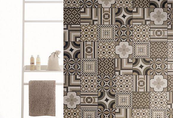 INSIDE by Fioranese (deco decor) #porcelain #floor #wall #tile #pattern #patchwork #cersaie