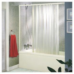 Hoggan puerta plegable rectangular para tina 150 x 145 cm for Sodimac llaves de duchas