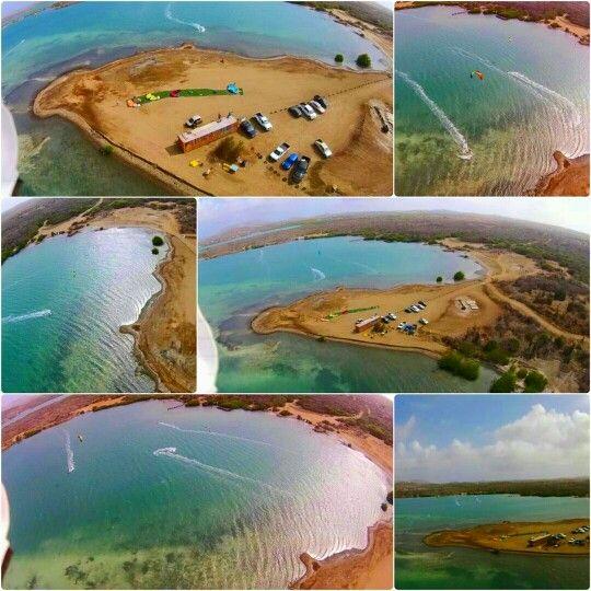 Kitesurf spot @ Curaçao