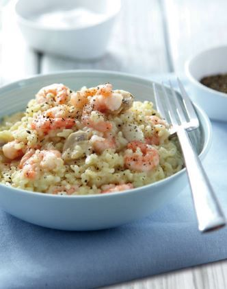 Team GB cyclist Elinor Barker loves prawns! And we love this Prawn Risotto :)