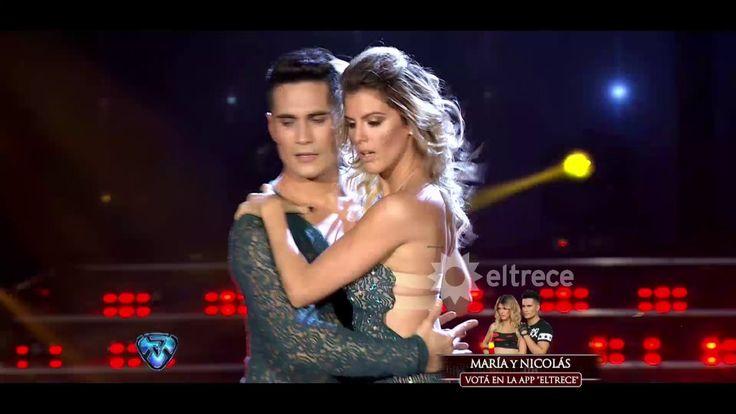 Una bachata brillante bailaron María del Cerro y Nico Villalba