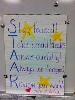 Texas teaching acronym for STAAR...just an idea...