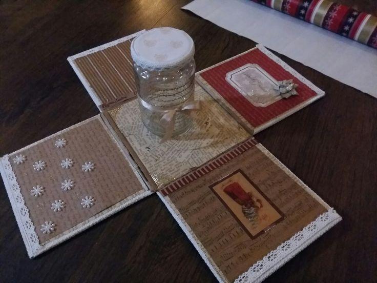 Christmas exploding box