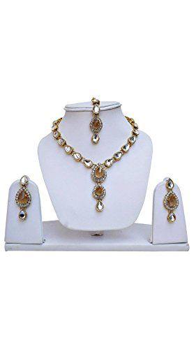 Latest Indian Bollywood Designer Golden Stone Kundan Trad... https://www.amazon.com/dp/B06ZY9DJ3B/ref=cm_sw_r_pi_dp_x_1eE.ybVQX18G7