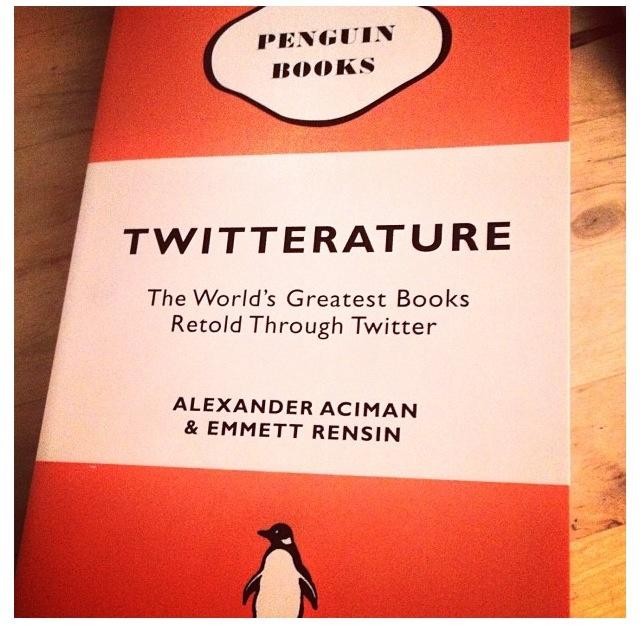 Twitterature.
