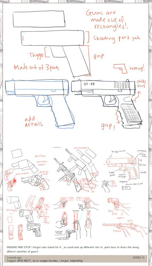 Drawing Guns