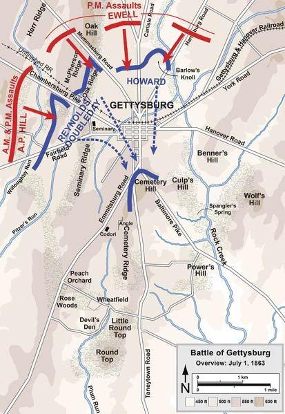 Battle of Gettysburg (July 1–3, 1863) Summary & Facts