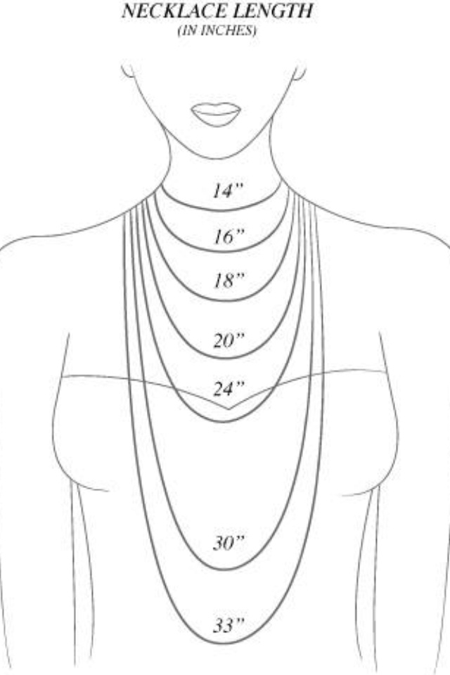 Know what length of necklace you want