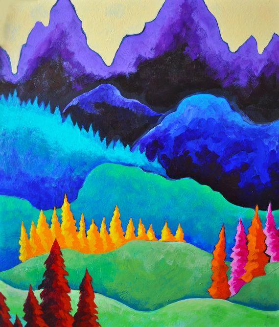 Alpine Sunshine Lauterbrunnen Switzerland by PaintMyWorldRainbow, $15.00