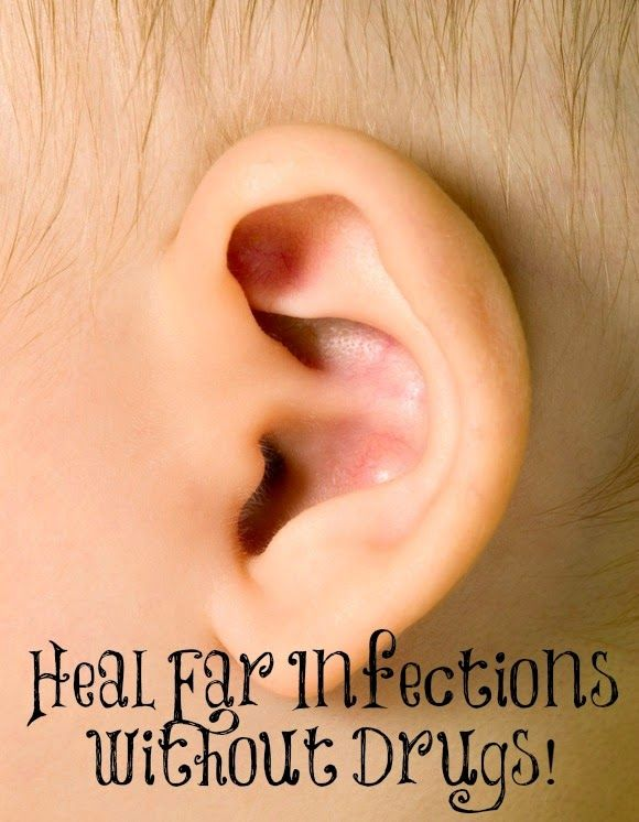 how to break an ear infection naturally