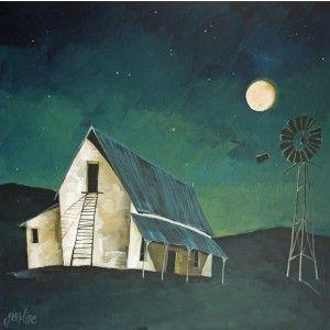 KAROO NIGHT, GLENDINE, ALICE ART GALLERY