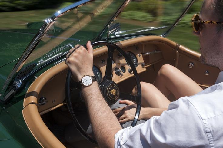 Dan Trepanier wearing a Pierre Arpels timepiece from Van Cleef & Arpels and Karyn Bailey   ©Alex Crawford/ Van Cleef & Arpels