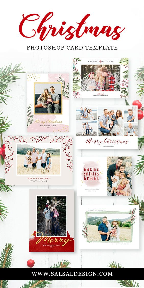 Best Christmas Card Template Images On   Christmas