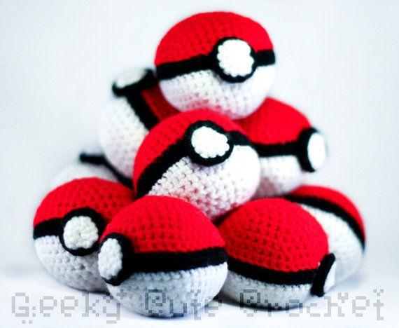 Amigurumi Pokemon Ball : 17 Best images about Knitting :) on Pinterest Pikachu ...