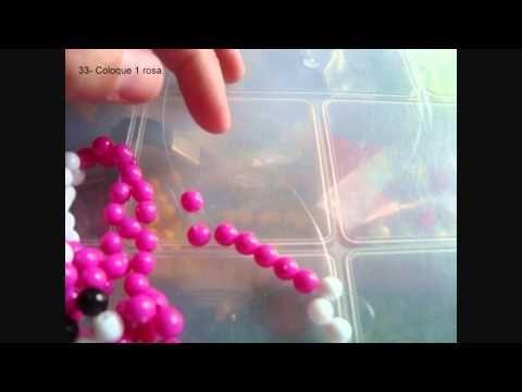 Como fazer bichinhos de miçangas passo a passo - Artesanato Brasil