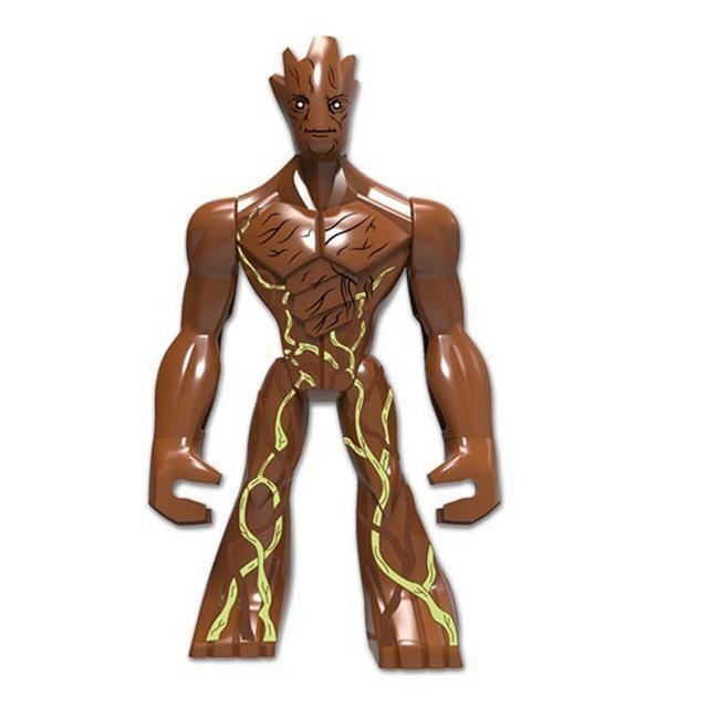 Single Sale Large Figures super cool Hulk Buster legoings Thanos Dogshank Venom Iron Man Building Blocks Toys gifts Kids Toys