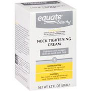 Equate Beauty Neck Tightening Cream from Wal-Mart. This neck cream is Equate's version of Strivectin-TL Neck Tightening Cream which sells for about $89. It only costs $20 and has all the key anti-aging  ingredients as the costly version.
