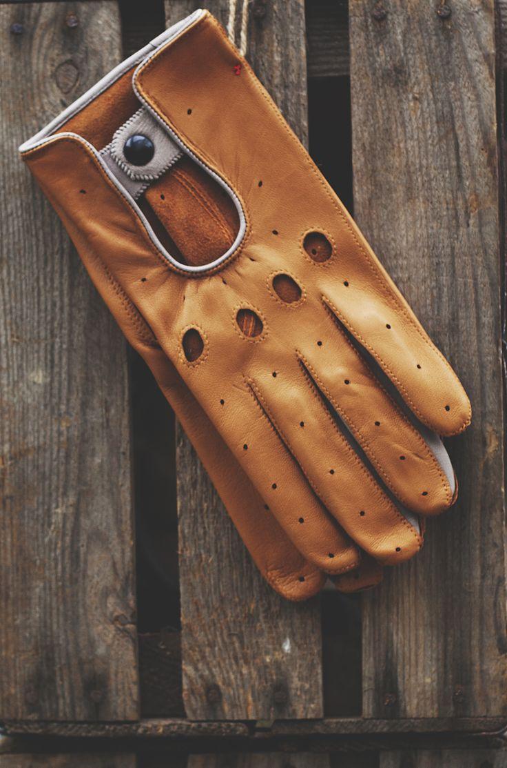 Gaspar leather driving gloves - Light Leather Driving Gloves Hand Sewn In France For Www Monsieurlondon