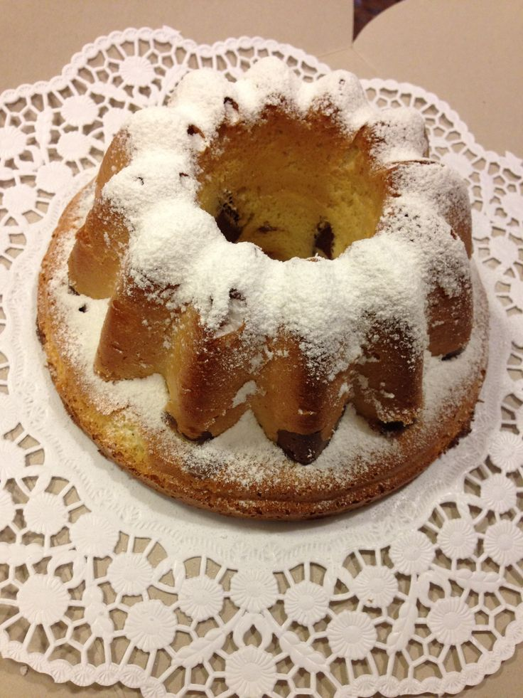 Wintery Bundt Cake