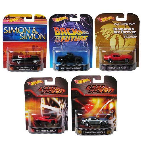 Hot Wheels Retro Entertainment 2014 Wave 2 Case
