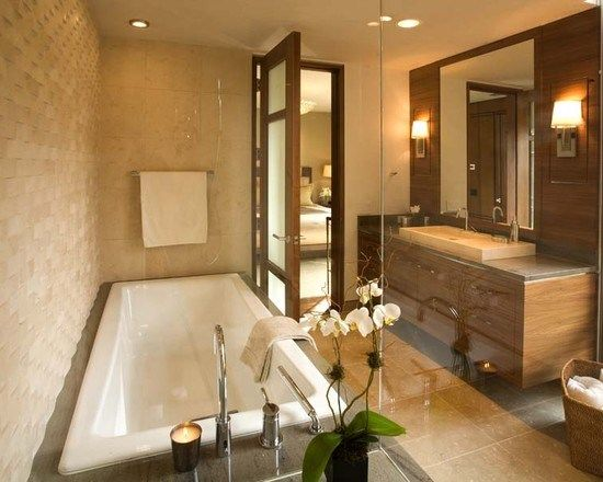 exemple salle de bain design 974 photo deco maison ides decoration interieure sur pdecor - Exemple Salle De Bain Design