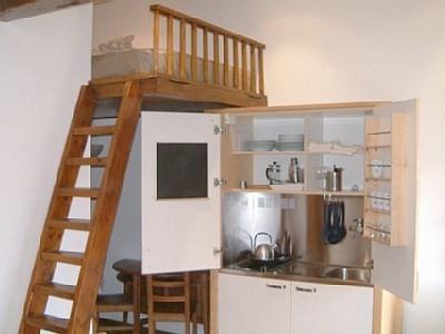 ... Studio Apartment Kitchenette : Best Images About Myriame On Pinterest  Kitchenettes ...