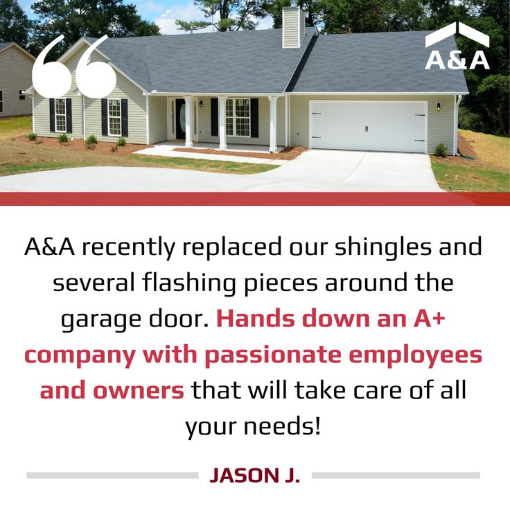 We appreciate your review, Jason! Roof siding, Shingling