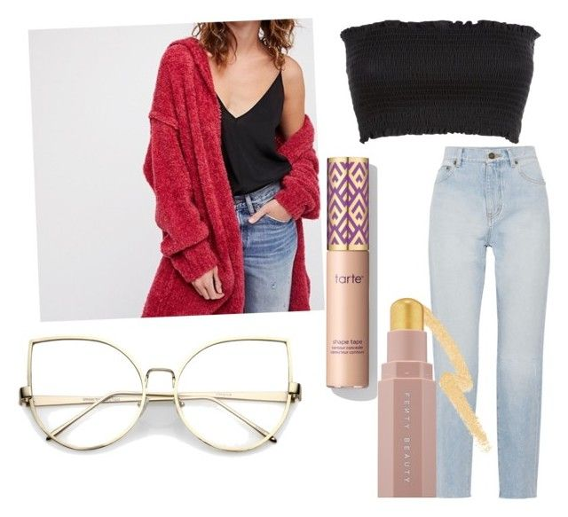 """""""Cozy day"""" by casa03 on Polyvore featuring Yves Saint Laurent and Puma"""