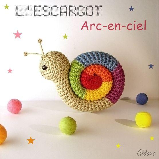 crochet - Escargot au crochet