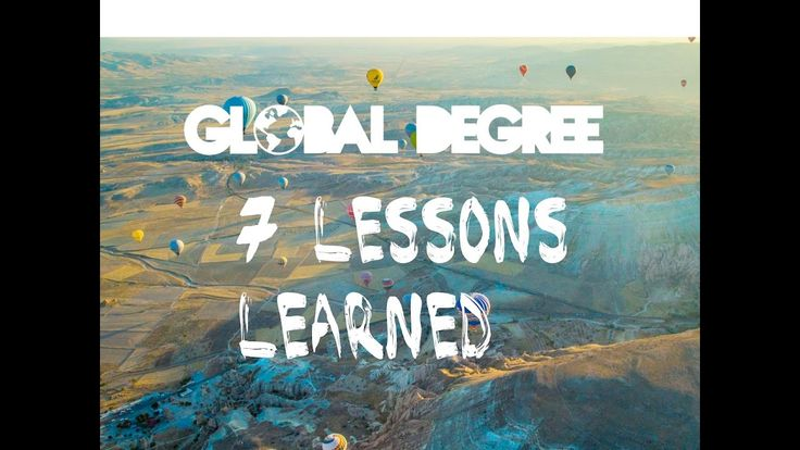 LIFE LESSONS LEARNED ONLY THROUGH TRAVEL...