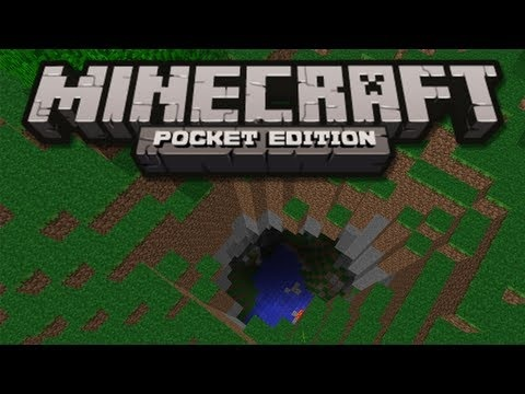HUGE CRATER SEED! - Minecraft Pocket Edition