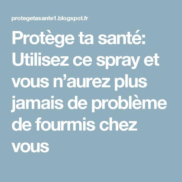 Protège ta santé: Utilisez ce spray et vous n'aurez plus jamais de problème de fourmis chez vous