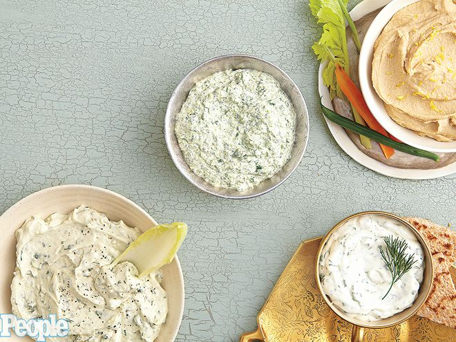 The Chew's Carla Hall shares her spinach and feta dip recipe. Great for a holiday party! http://www.people.com/people/package/gallery/0,,20547855_20320157,00.html#21241804: Holidays Parties, Recipes Food, Parties Dips, Fun Appetizers, Feta Dips, Perfect Parties, Celebrity Recipes, Dips Recipes, Dip Recipes