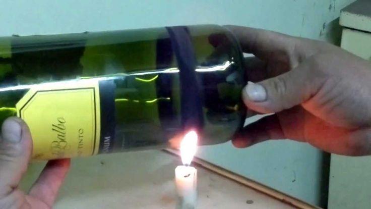 Como cortar botellas de vidrio version mejorada - Como cortar botellas de vidrio ...