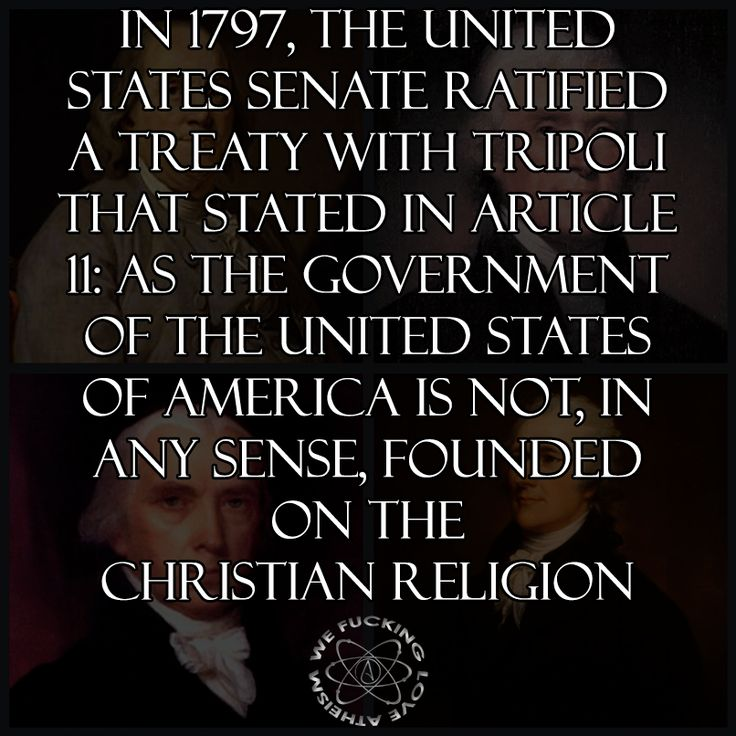 STOP SAYING AMERICA IS A CHRISTIAN NATION! You are an absolute fool if you believe this to be true!