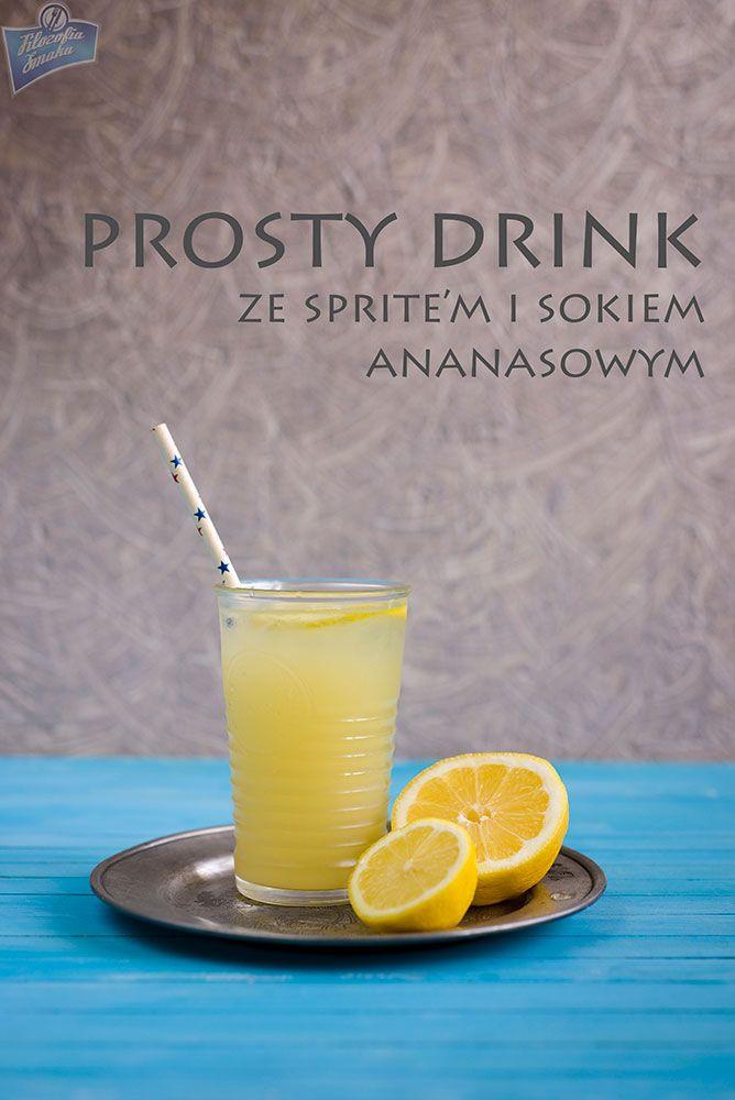 Pineapple Juice Cocktail/Drink z sokiem ananasowym