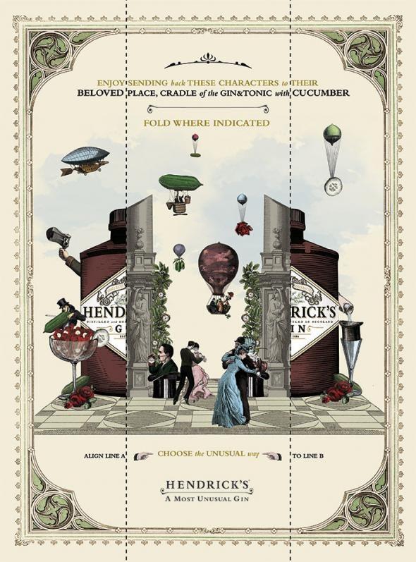 Hendrick's Gin: Choose the Unusual Way, 1