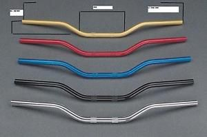 a triumph speed triple manubrio ergal handlebar anodized ergal size 22 mm