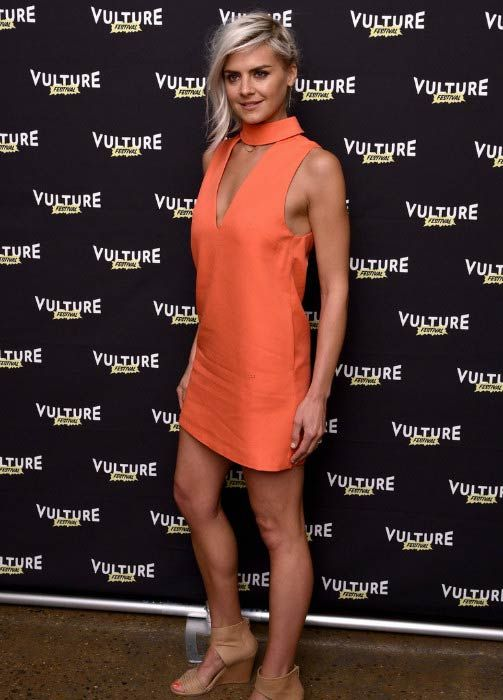 Eliza Coupe at the Vulture Festival in May 2016...