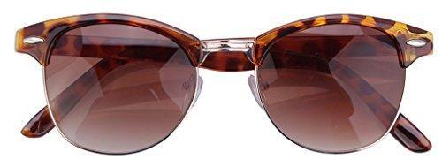 Oferta: 7.71€ Dto: -22%. Comprar Ofertas de V-SOL Sunglasses Gafas De Sol Para Mujer Hombre - Plástico (Marrón) barato. ¡Mira las ofertas!