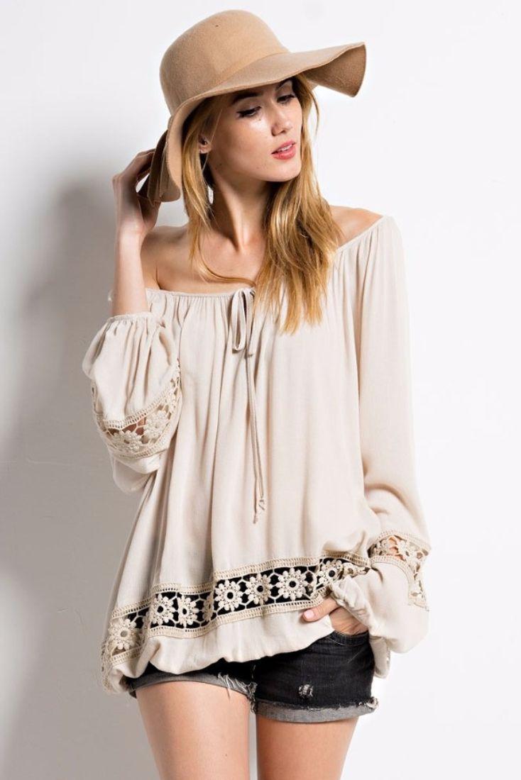 70 Best Vip Fasion Images On Pinterest Feminine Fashion Ladies Magnolia Wrap Tie Shirt Wanita Putih Gypsy Boho Blouse A Vintage Spin Wardrobe Fave This Gorgeous Luxe