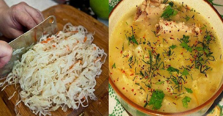 Вкуснейший густой суп!