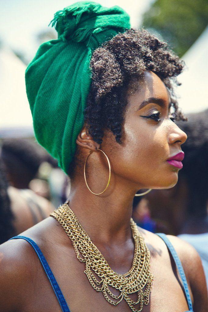 Curlfest Beauty Street Style 2017 | Natural hair styles, Hair scarf styles, Scarf hairstyles