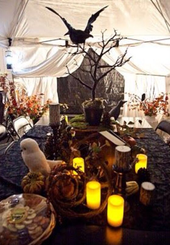 Decoration Table Harry Potter