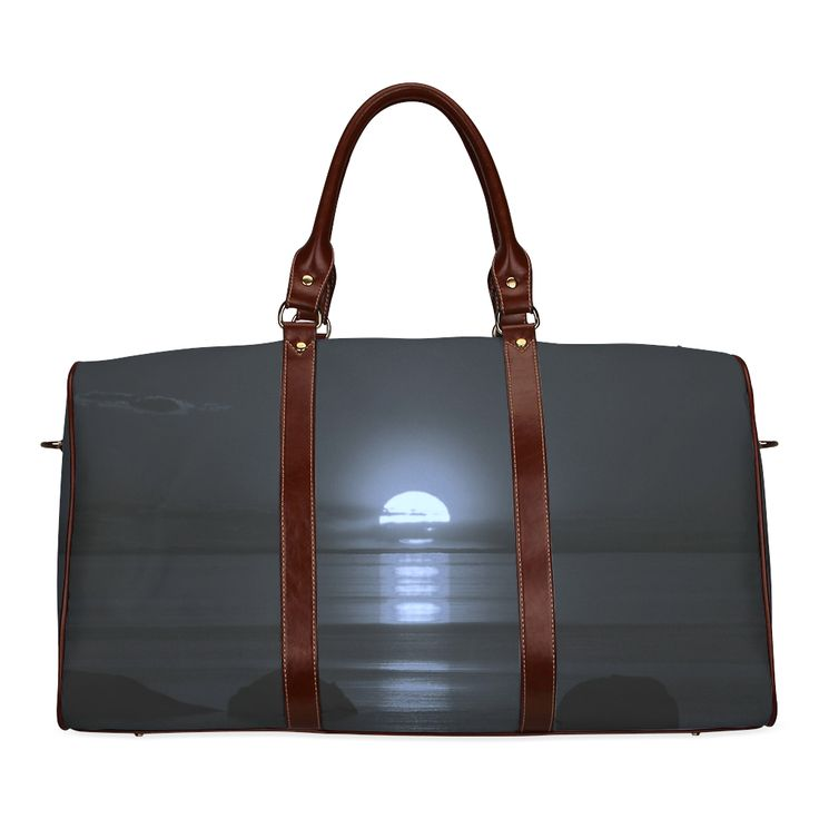 Moony Sunset Waterproof Travel Bag/Small (Model 1639)