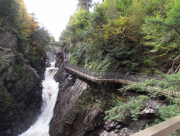 up state new york parks | There are 4 waterfalls cascading 100 feet down over 700 feet stretch ...