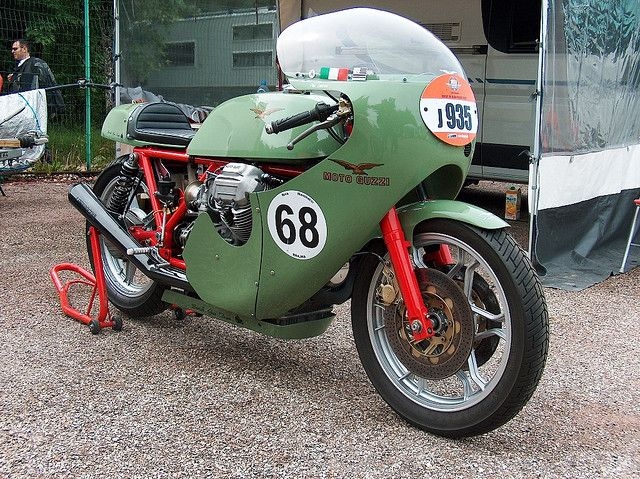 Moto Guzzi V7 Sport early seventies race replica
